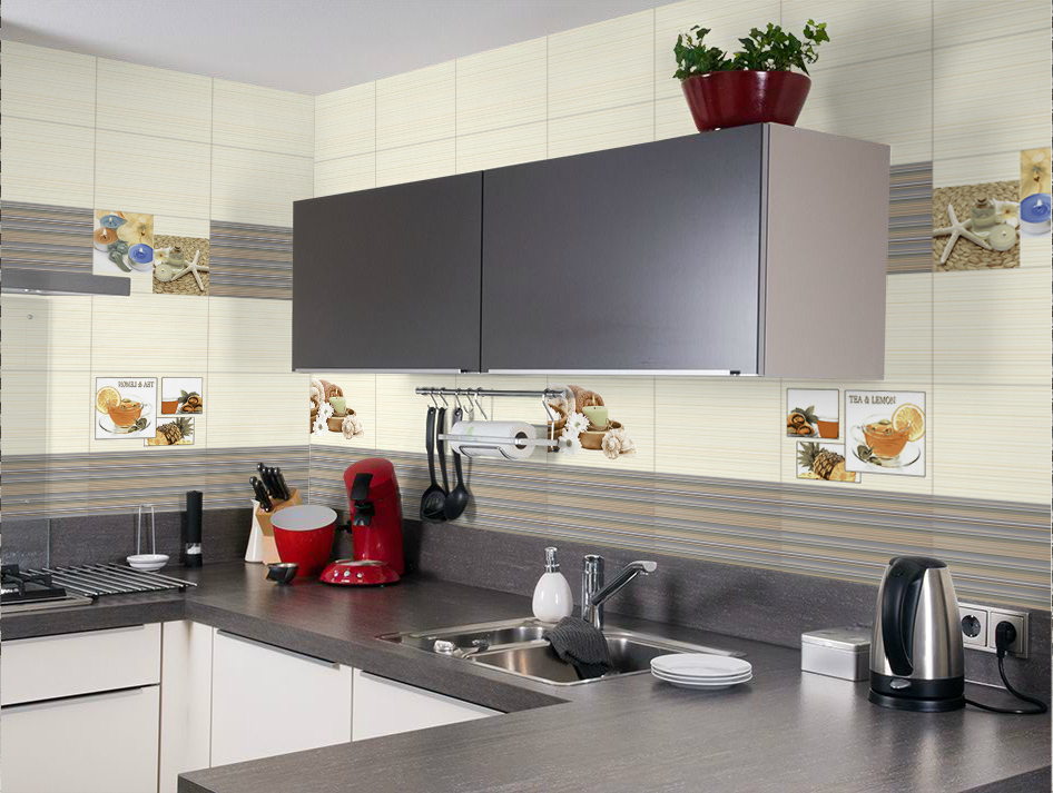Floor Kitchen Tiles Design