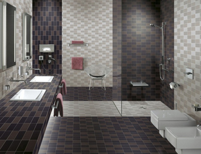 Pics for indian bathroom wall tiles for Bathroom tile designs in india
